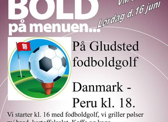 FODBOLDGOLF & VM-BOLD